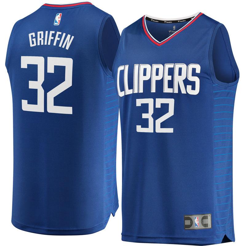 Blake Griffin LA Clippers Fanatics Branded Youth Fast Break Replica Jersey  Blue - Icon Edition 9ddc3f47a