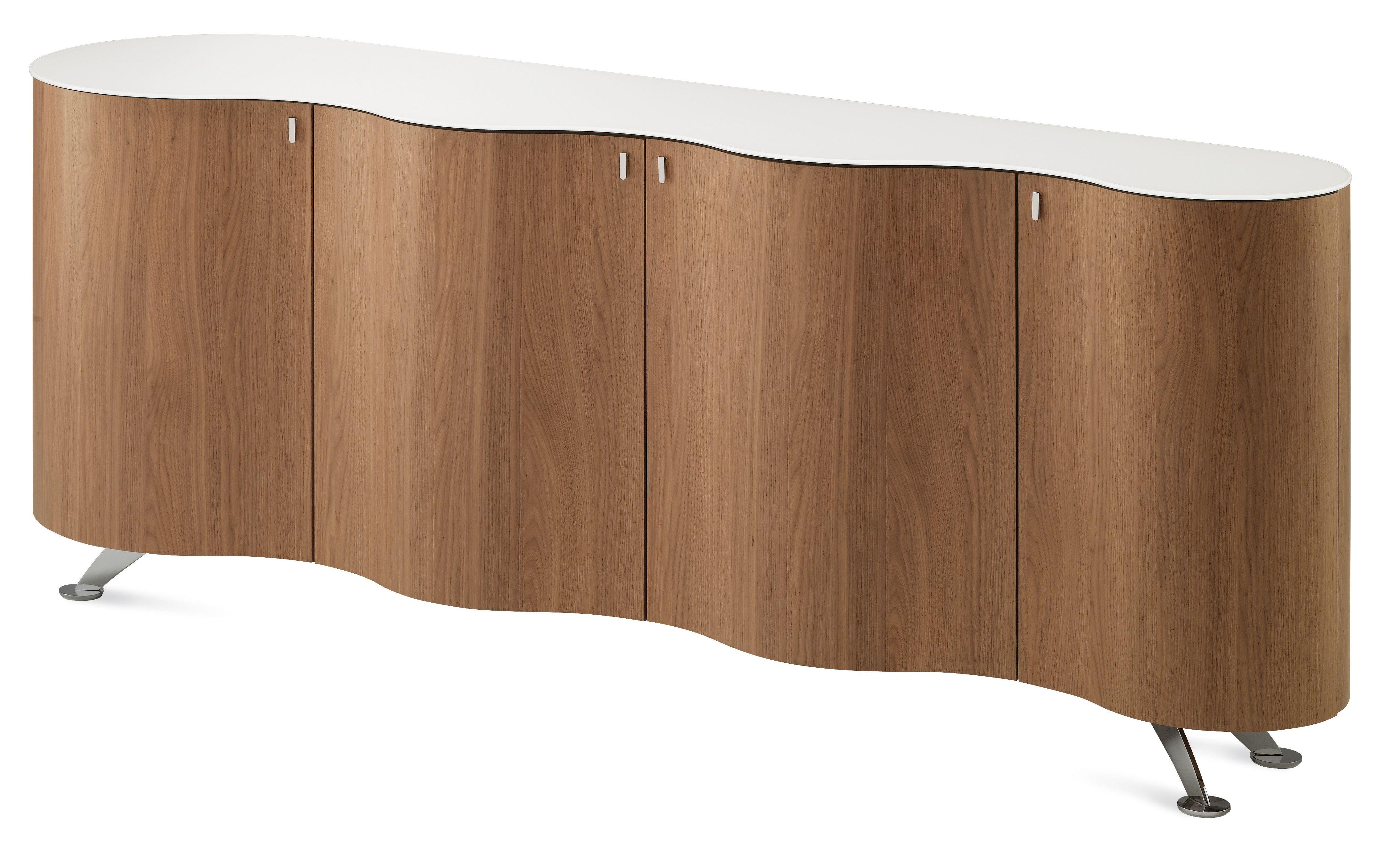palio modern sideboard in walnut finish by domitalia made in italy rh pinterest com
