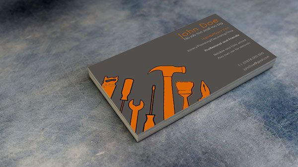 22 handyman business card designs for your inspiration handyman 22 handyman business card designs for your inspiration reheart Gallery