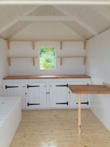 southwold interior okay beach hut interior beach hut shed shed rh pinterest com