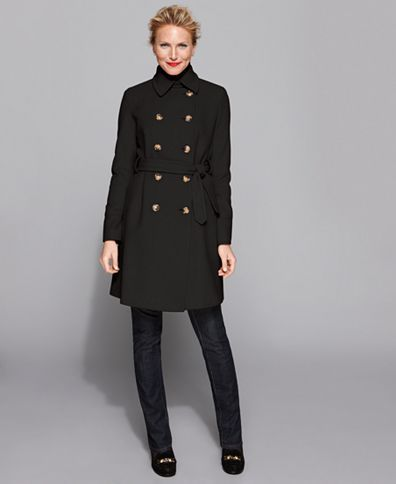 DKNYLove a Military style coat! | Coat, Military style