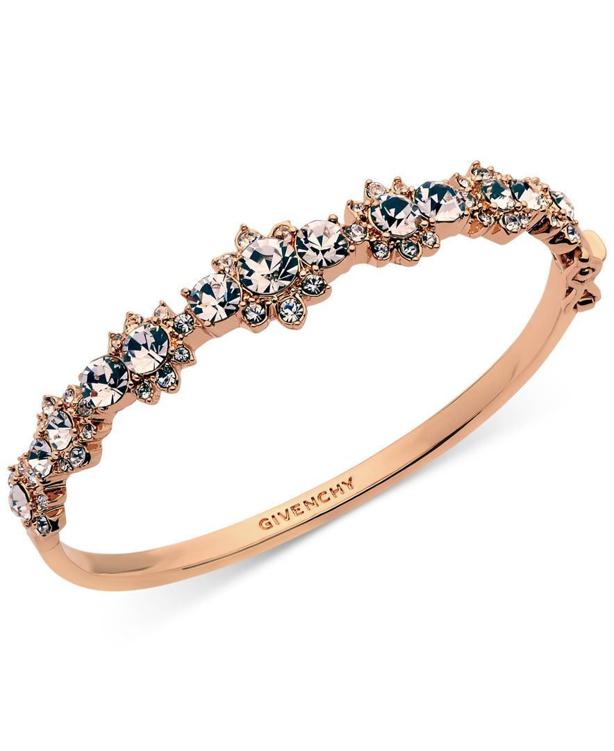 Givenchy crystal bangle bracelet products pinterest bangle