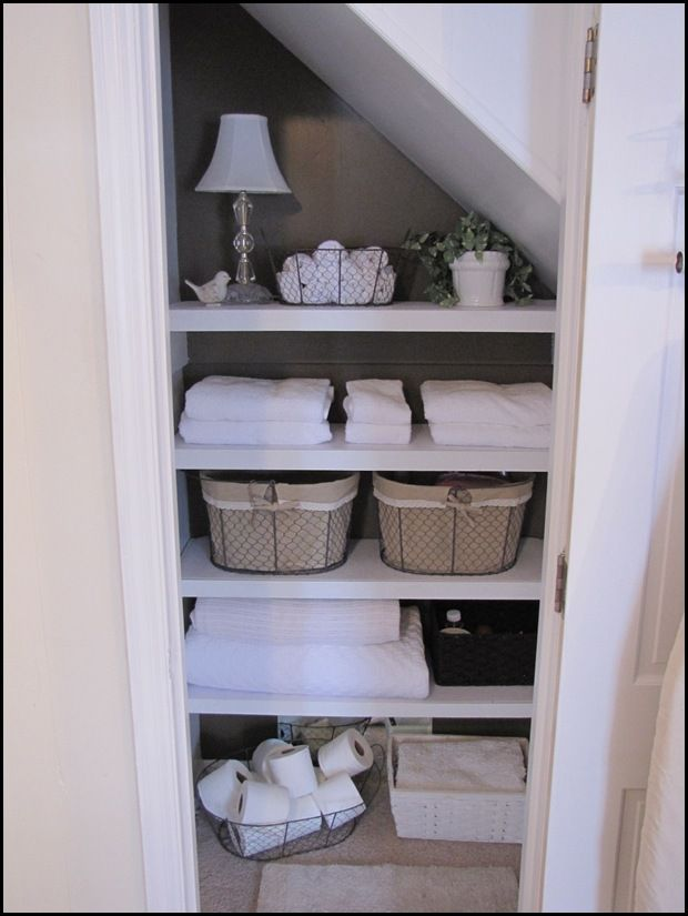 Organizing Your Heart And Home My Bathroom Closet Makeover