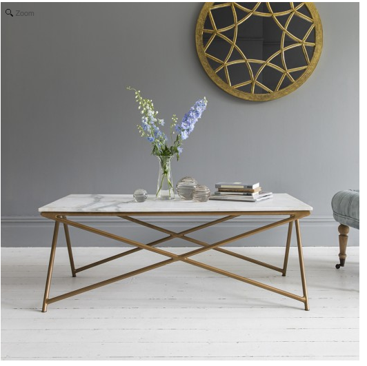 Stellar White Marble Coffee Table Eta Early August Http Www Atkinandthyme Co Uk Furniture Tables Steller Html