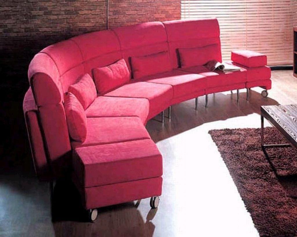 Curved sectional sofa Curved sectional sofa