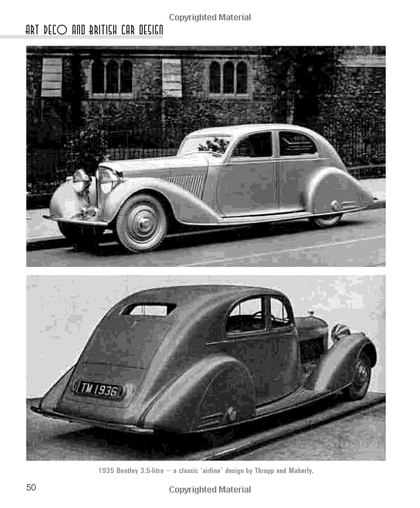 Art Deco And British Car Design: The Airline Cars Of The