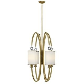 For Hinkley Lighting 4858 4 Light Indoor Large Pendant From The Monaco Collection Get