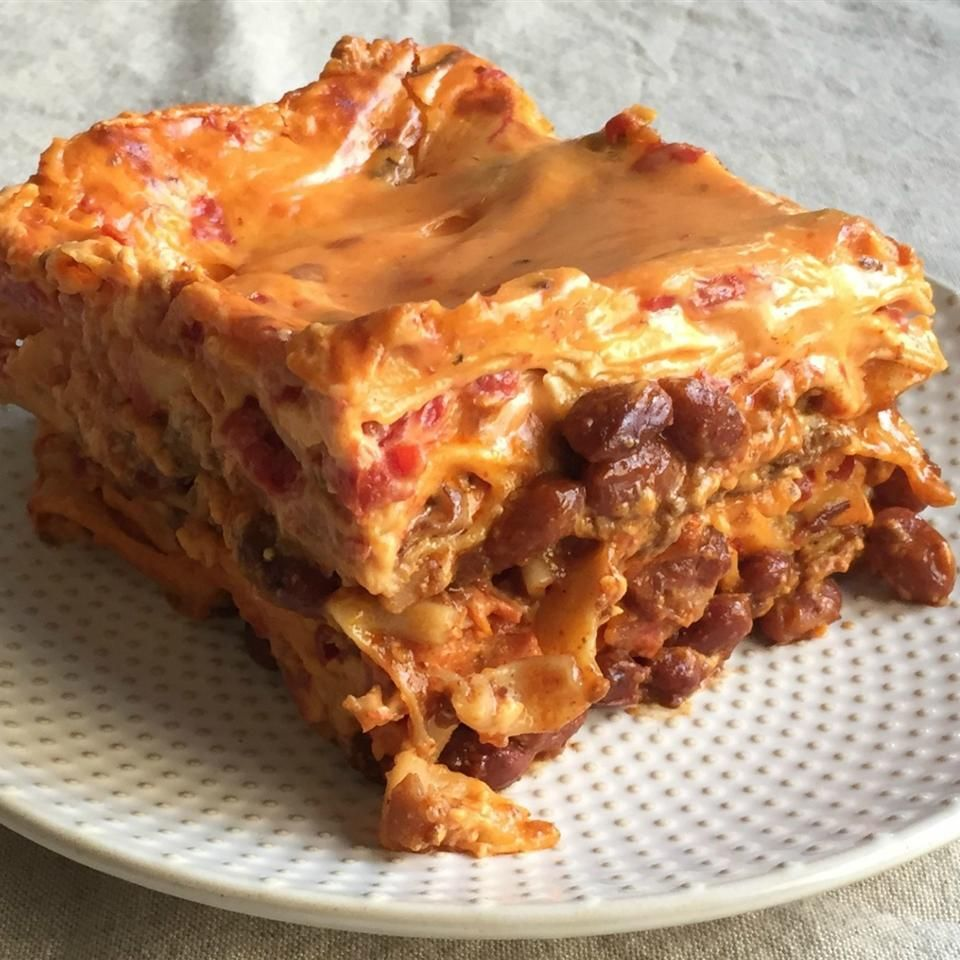 21 Dishes That Start With A Can Of Rotel In 2020 Easy Lasagna Lasagna Recipe Recipes