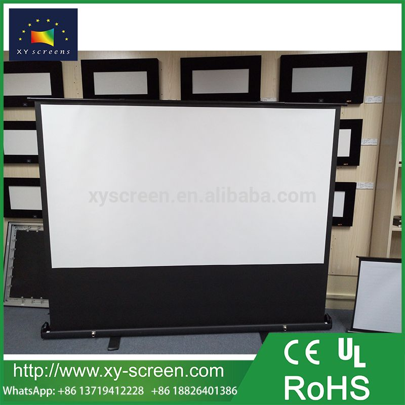 Xyscreen Portable Floor Standing Projection Screen