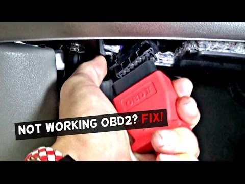 Obd2 Port Not Working How To Fix Not Working Obd Port Obd2