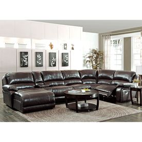 coaster fine furniture mckenzie chestnut faux leather loveseat rh pinterest es
