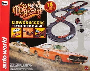 ho dukes of hazzard 14 racing set w jumps awk259 auto world ho rh pinterest com