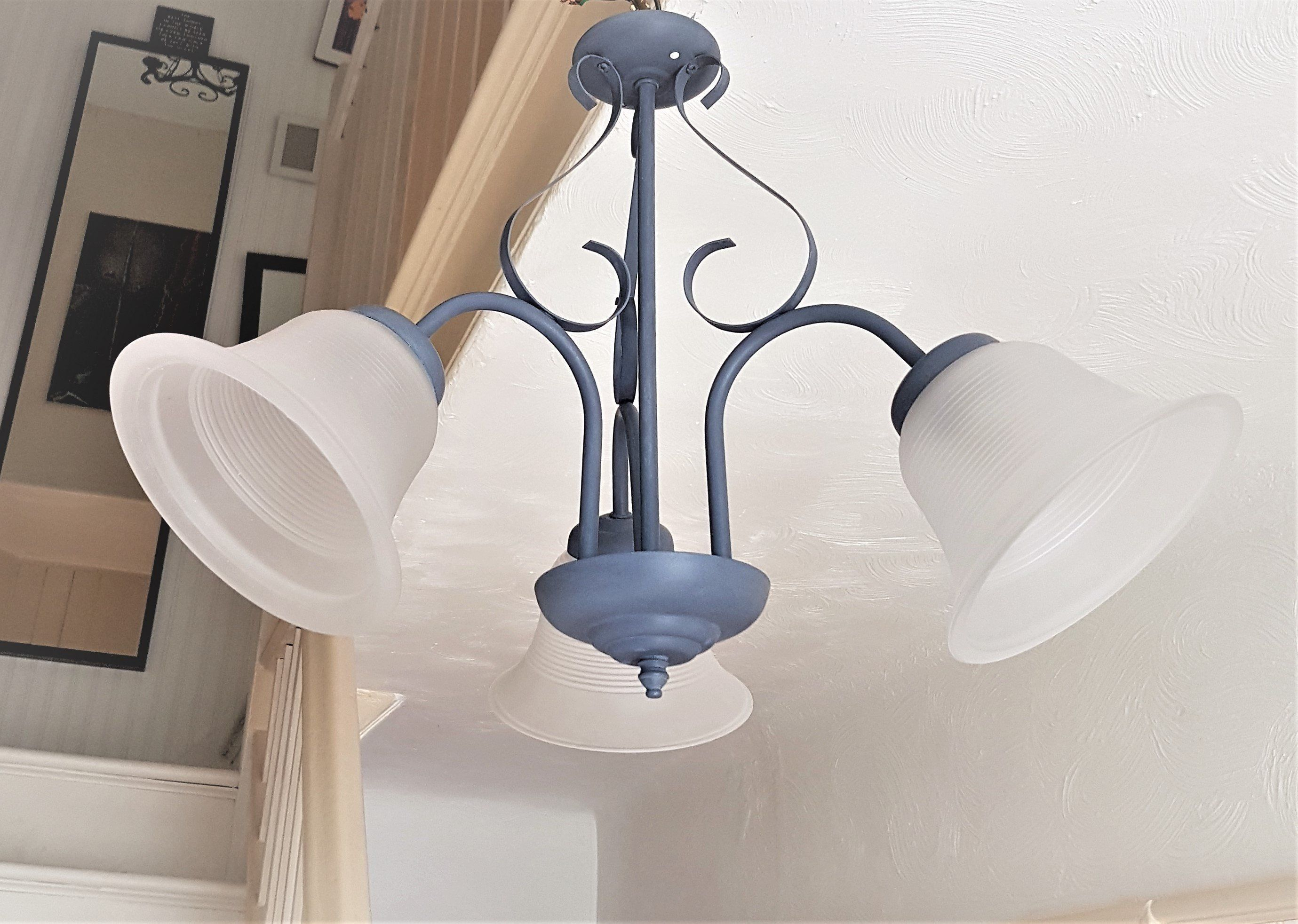 ceiling light fixture purple flush vintage light glass lamp shades rh pinterest com