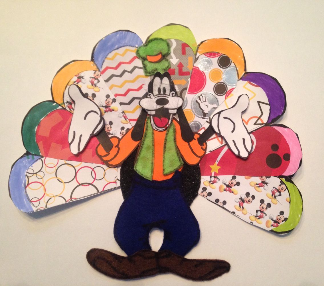 It's Goofy~ our Turkey In Disguise | Turkey disguise ...
