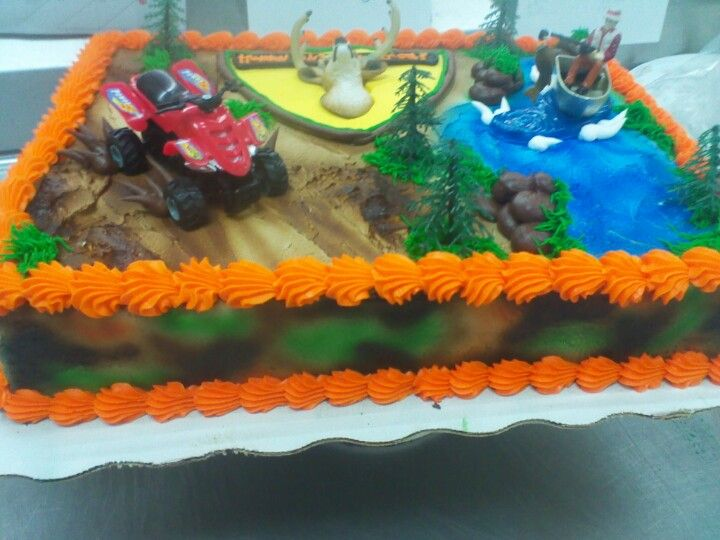 Hunting fishing for wheeling county boy cake Bunny cakes
