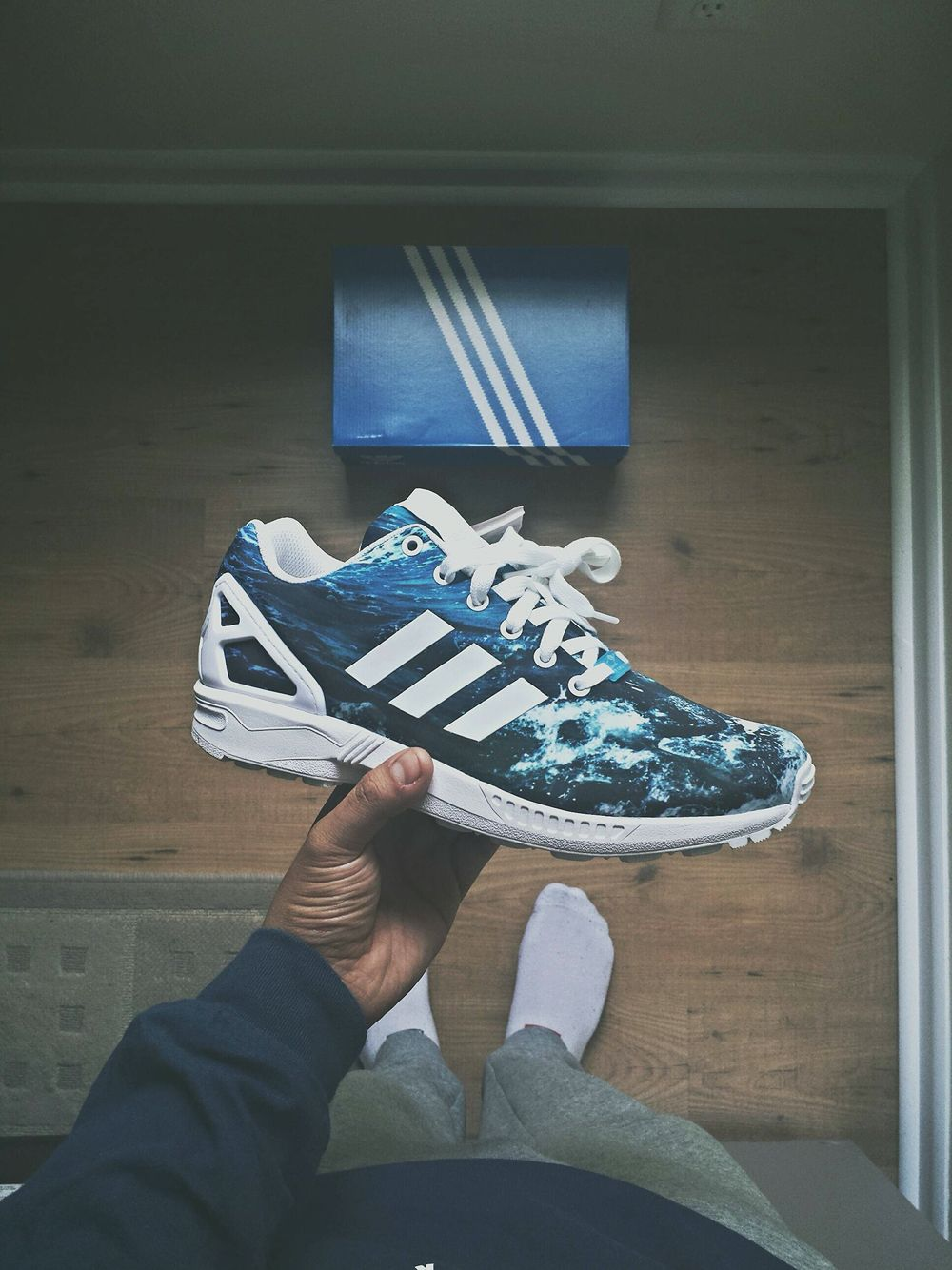 finest selection 74f04 fd3ab Adidas ZX Flux
