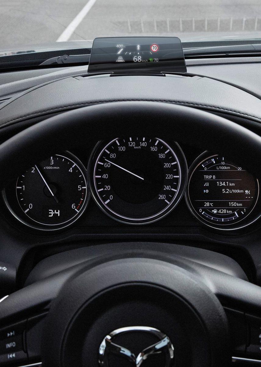 Mazda 6 Sedan 2017 Cluster Hud