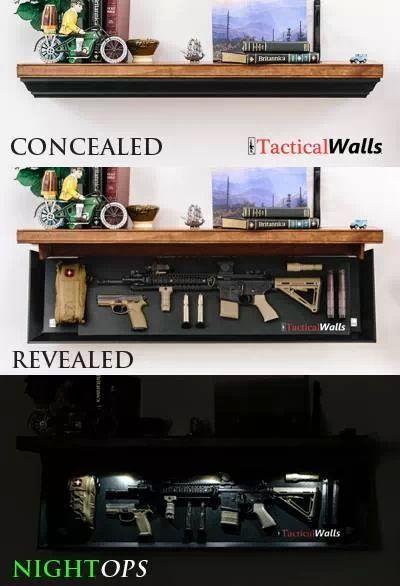 Shelf Drop Down Hidden Gun Case Guns Amp Weapons