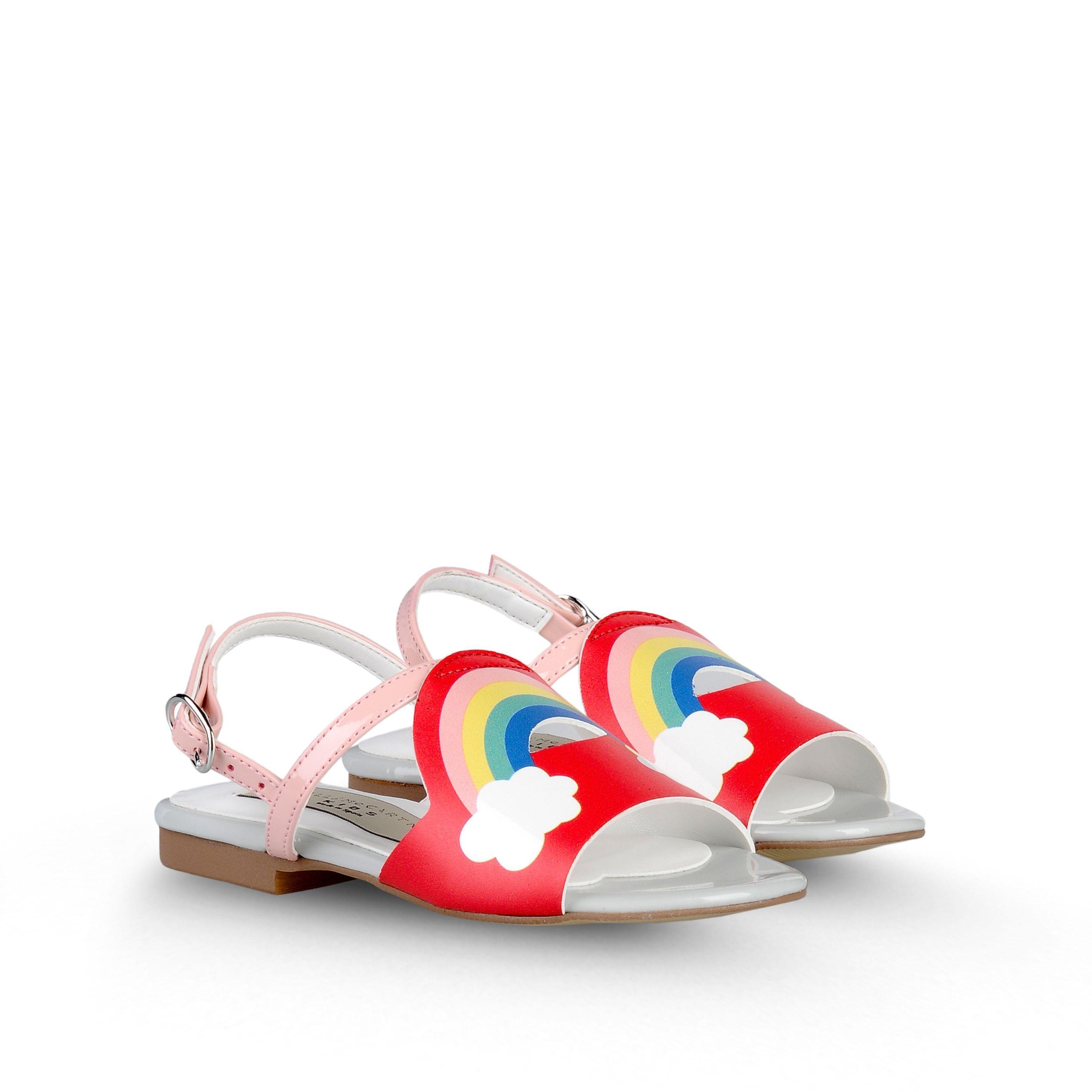 Stella Mccartney Kids - SANDALES AVEC ARC EN CIEL PENNY (TAILLE 31 37) - Sur la boutique Online officielle
