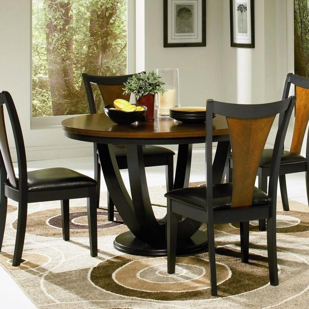 Round Kitchen Table Chair Sets Round Kitchen