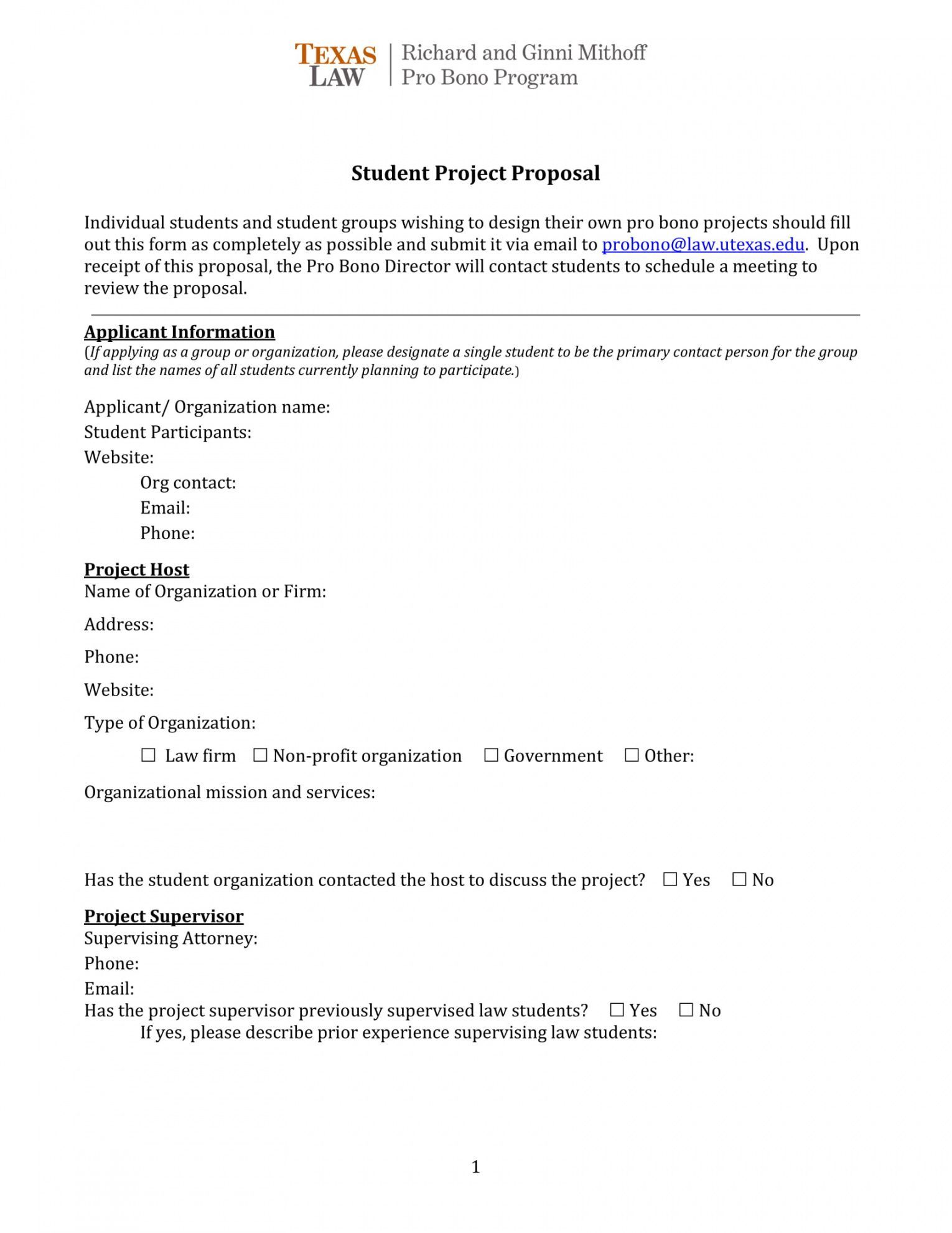 Basic Project Proposal Template Project Proposal Template Proposal Templates Project Proposal
