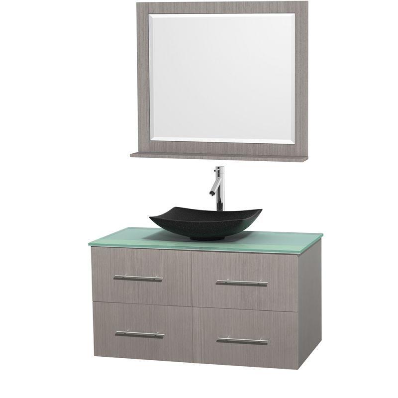 wyndham collection wcvw00942sgoggovm36 42 wall mounted vanity set rh in pinterest com