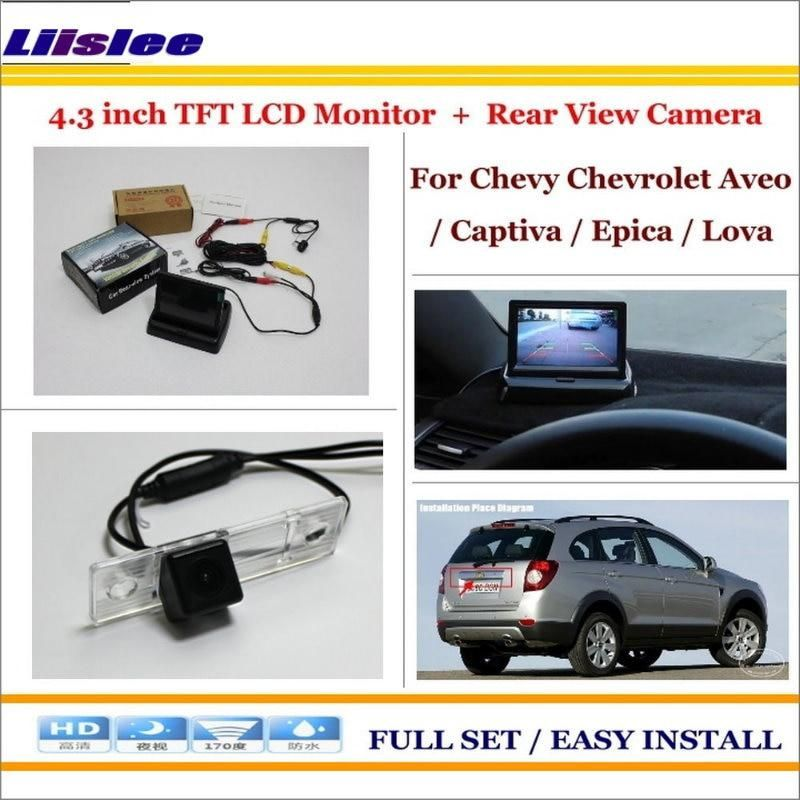 Liislee For Chevrolet Chevy Aveo Captiva Epica Lova Car Us 41 36 Car Parking Camera Lcd Monitor Rear