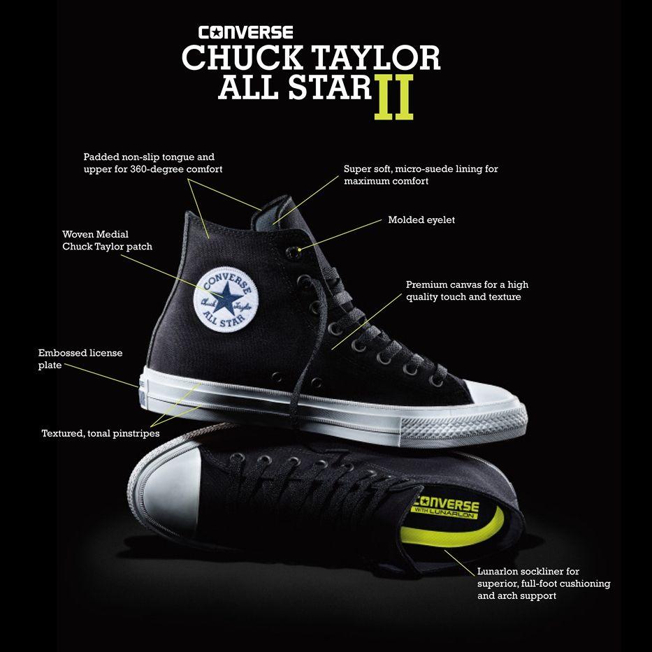 chuck ii features 2 (com imagens) | Sapatos all star