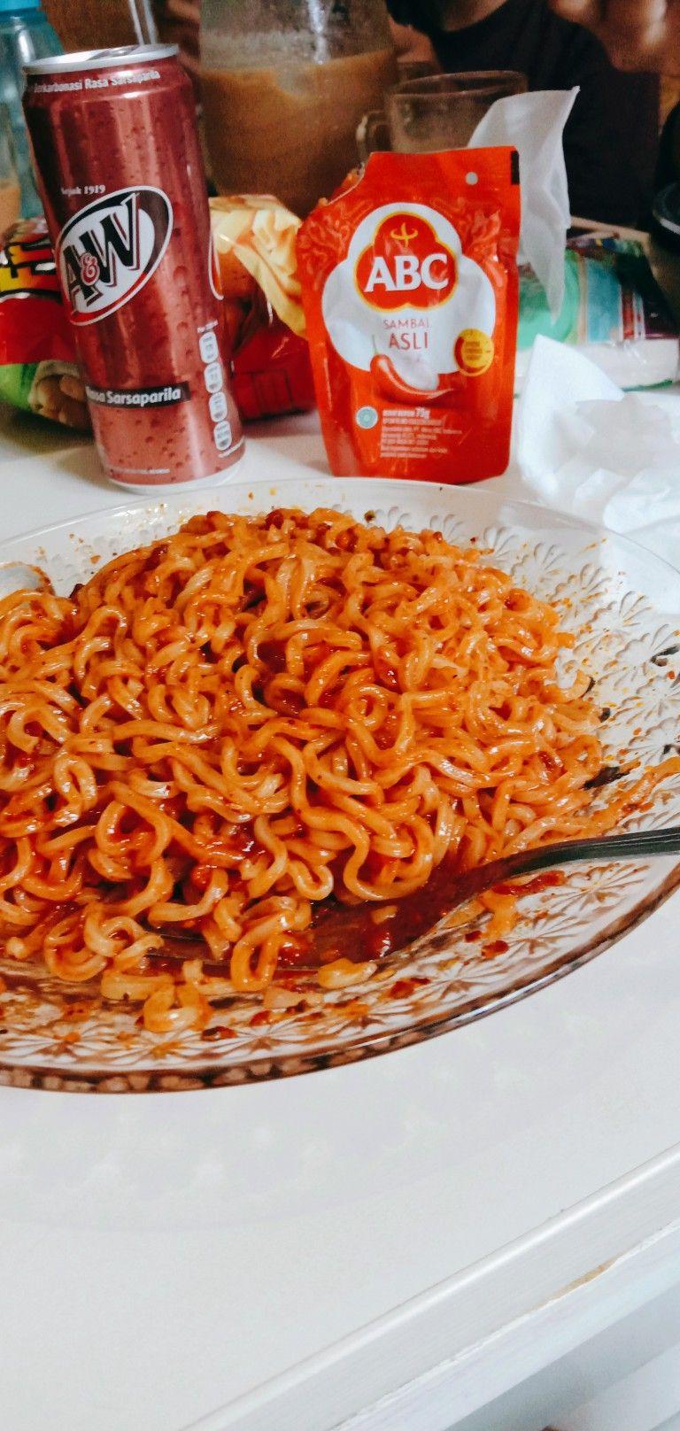 Indomie Goreng Di 2020 Makanan Mie Indonesia