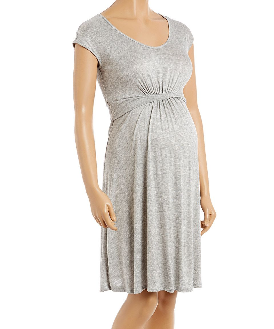 Love this mom co heather gray twist waist maternity dress by heather gray twist waist maternity dress by mom ombrellifo Gallery