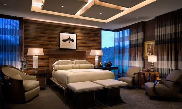 chic ceiling design with multiple illuminated squares for the lavish bedroom design nice - Master Bedroom Ceiling Designs