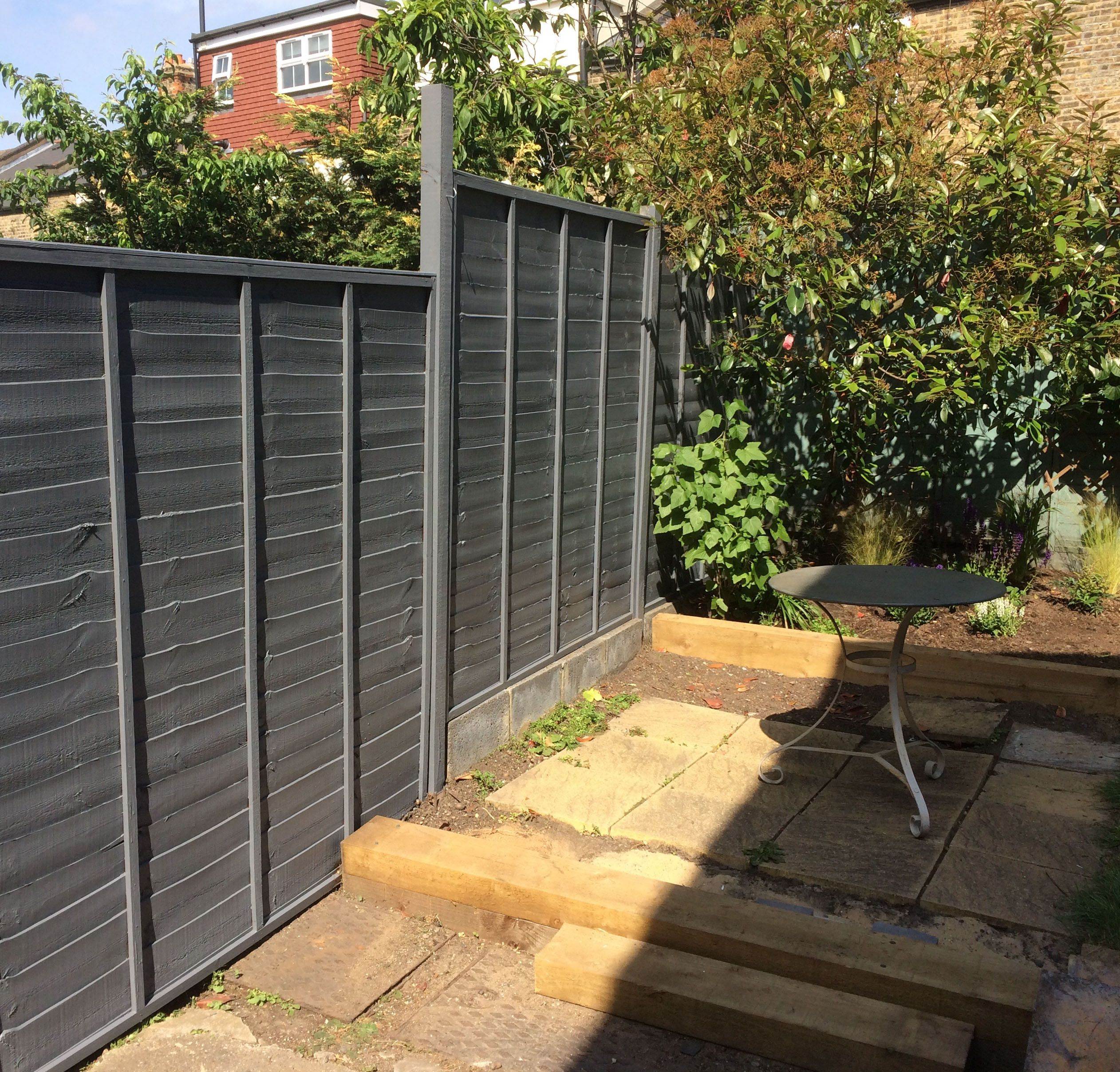 Valspar garden colours with  durable mid sheen livened up this fence and will keep it weatherproof water repellant protected from uv henryfix also rh pinterest