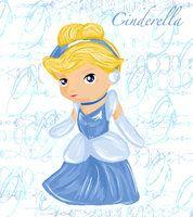 Disney Chibi princess tinkerbell | ChibiDisneyPrincess_2Cinderela by EB-Style