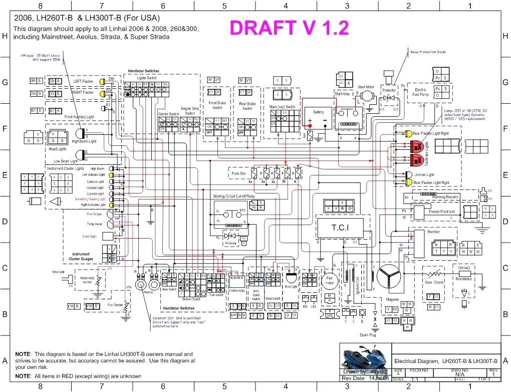tank 150cc scooter wiring diagram parts basic engine chinese 150 rh  pinterest com Electric Scooter Wiring