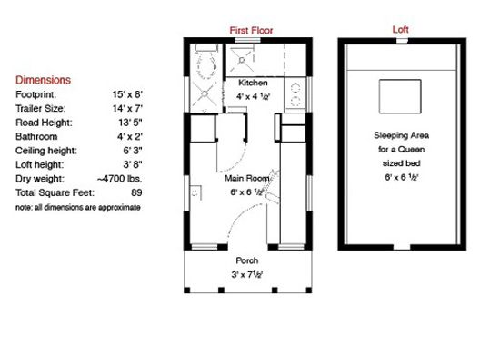 Tiny House Floor Plans Free Little Boxes On The Hillside Tiny