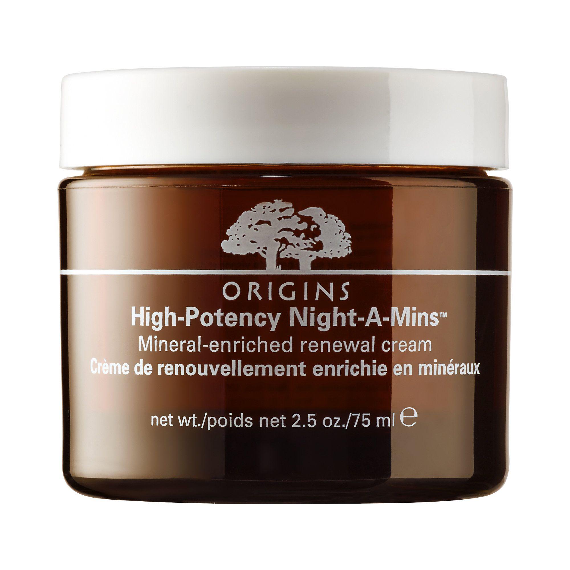 Shop Origins' High Potency Night-A-Mins™ Mineral-Enriched Renewal Cream at Sephora.