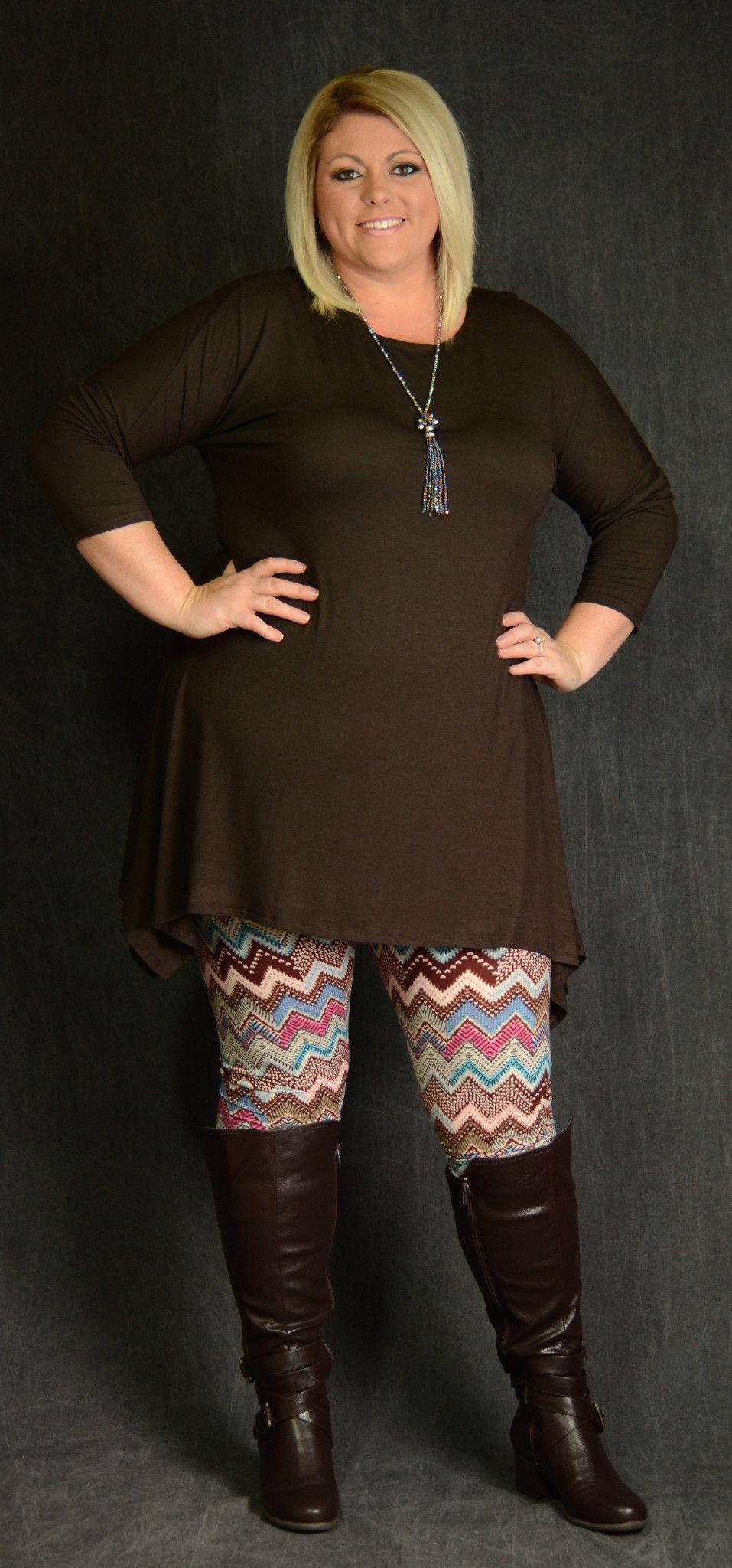 Asymmetrical dark brown dress boat neck and dolman sleeves just add