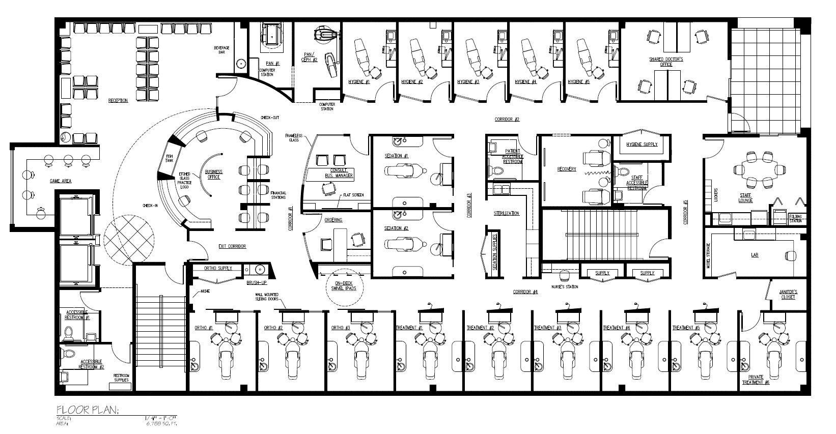 Hospital Floor Plan Pictures