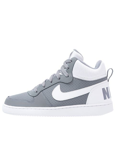 COURT BOROUGH - Baskets montantes - cool grey/white · Nike SportswearBarnsOm SneakersBasketsShoe ...