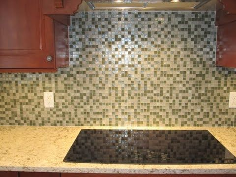 How To Install Oceanside Paper Faced Glass Mosaic Tile Youtube Mosaic Tiles Glass Mosaic Tiles Mosaic Glass