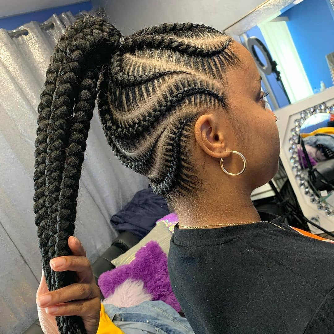 Findbraiders Justbraidsinfo On Instagram Snap Crackle Braidspoppin Want These Braid In 2020 Braided Cornrow Hairstyles Cool Braid Hairstyles Cornrow Hairstyles