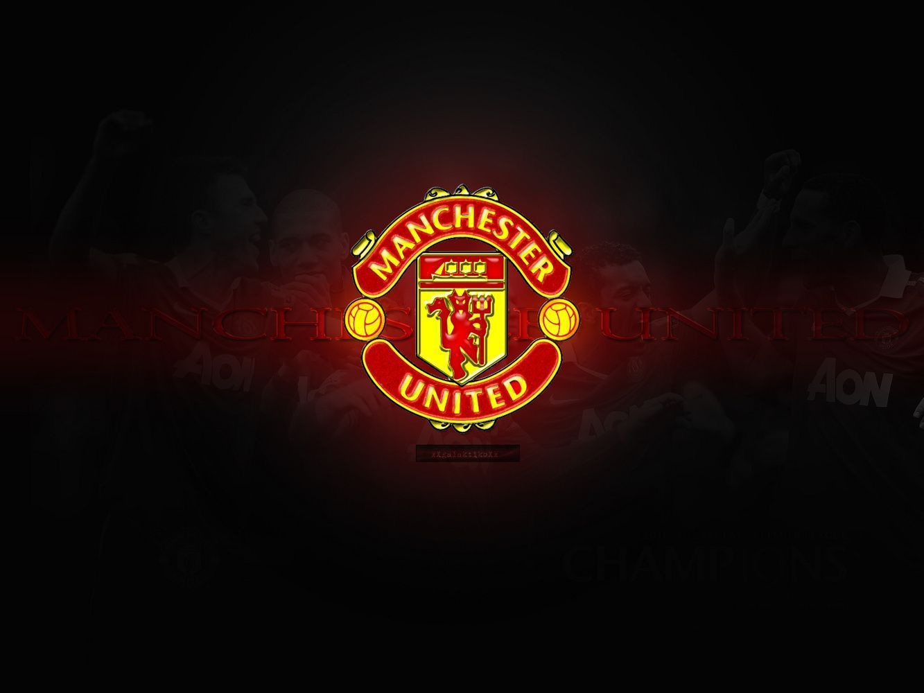 Hd wallpaper manchester united - Manchester United Wallpapers D Wallpaper
