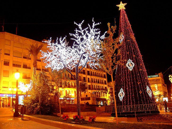 Espagne Puente Genil Decorations Noel Les Plus Beaux Noel