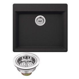 superior sinks 23 62 in x 20 86 in onyx black single basin drop in 4 rh pinterest de