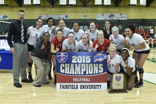 Defending Maac Champion Fairfield University Selected As Preseason Volleyball Fairfield University Volleyball News University