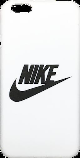 "Nike White Black ""Swoosh Logo"" Hard Plastic iPhone 6/6s"