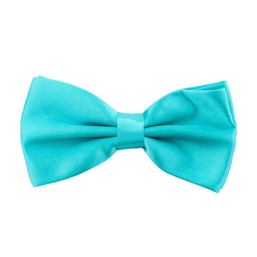 Fliege Schleife Hochzeit Anzug Smoking - türkis in Feierlichkeiten / Anlässe   • Hochzeit • Krawatten / Fliegen • Fliegen
