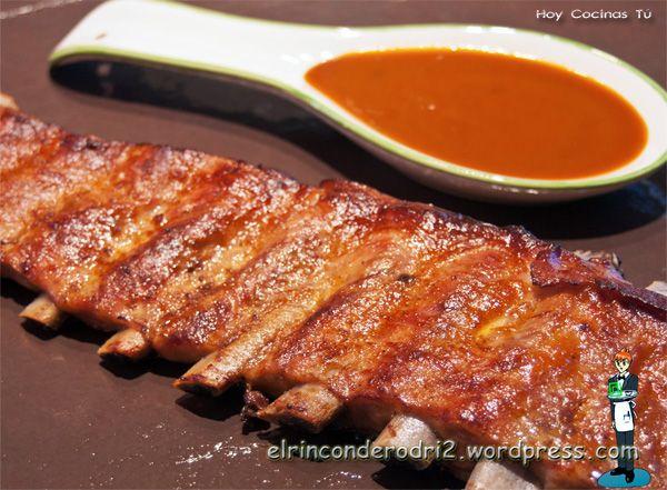 Hoy Cocinas Tú: Costillar de cerdo en papillote | Rezept | Pinterest