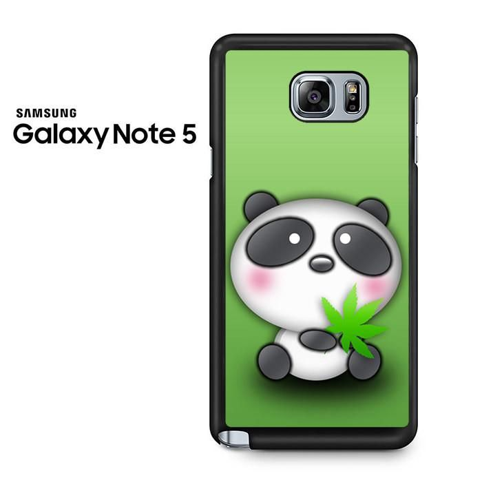 Cute Panda Bear Samsung Galaxy Note 5 Case