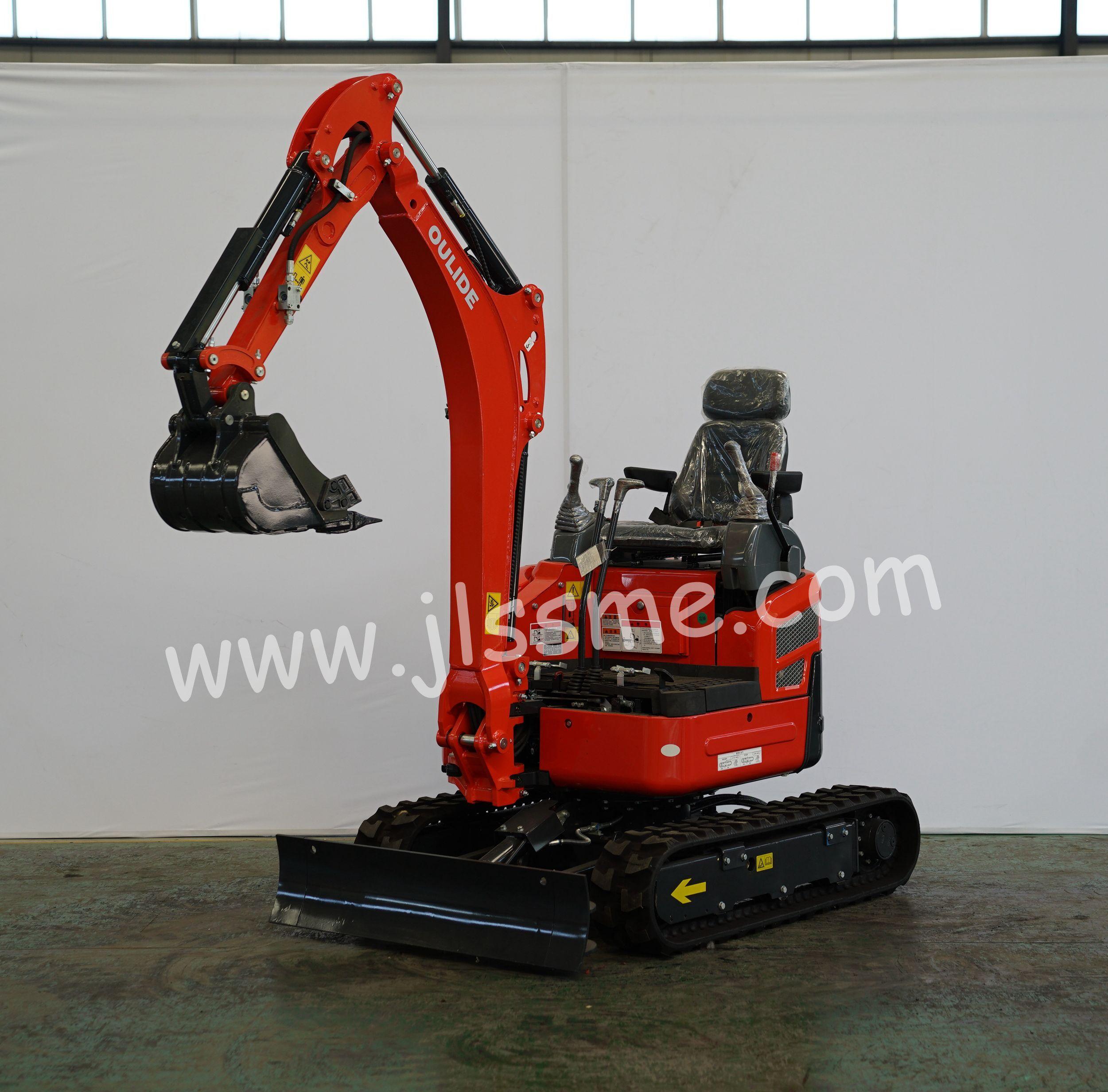 Main parameters of this mini excavator Operating weight